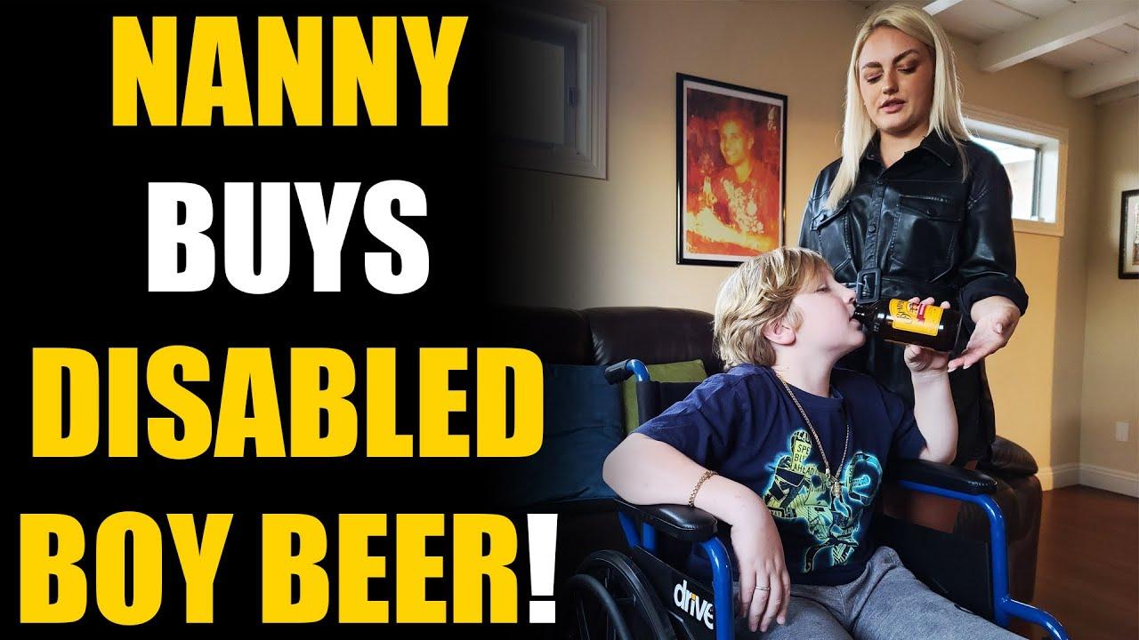Download HOT Nanny Buys Disabled Kid BEER! Then this Happens...   SAMEER BHAVNANI