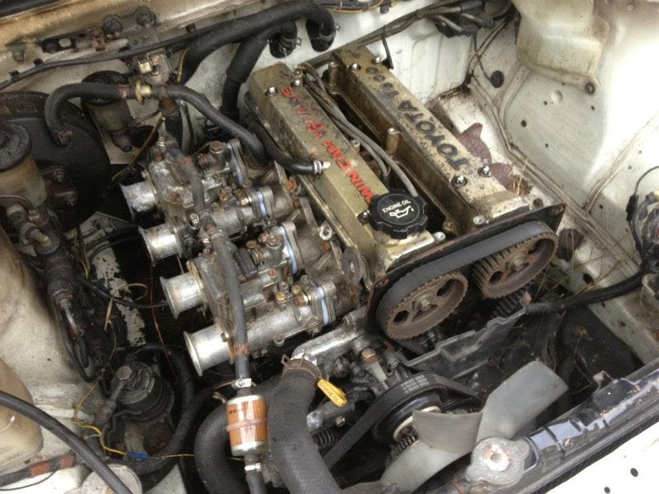 Toyota Corolla Twin Cam Engine