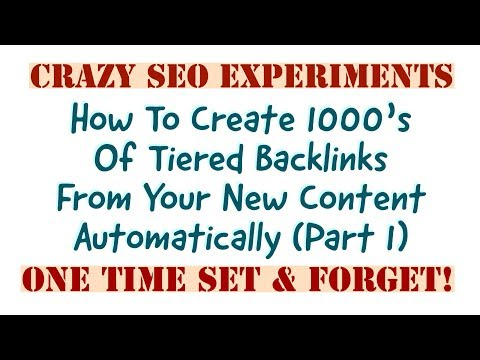 Crazy SEO: The Power Of  RSS SEO Automation Part 1