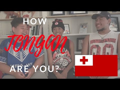 HOW TONGAN ARE YOU? 🇹🇴
