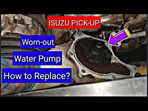 Isuzu Pick-Up || Water Pump Leak || How to Replace.