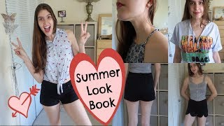 SUMMER CLOSET LOOKBOOK   My fave clothes & cool summer outfits