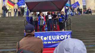 Call for a European Public Holiday!  (Speech in English and German)