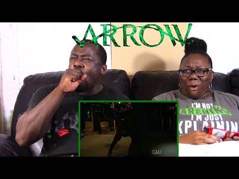 Arrow 6x1 REACTION {Fallout}
