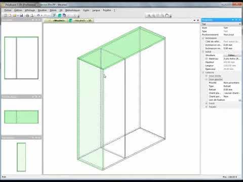 dessiner un meuble avec le logiciel de meuble polyboard