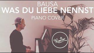 Bausa - Was Du Liebe nennst (Piano Cover) +NOTEN