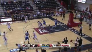 Highlights of Eastern Men's Basketball against Morehead State (Dec. 13).
