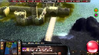 Stronghold Legends - Multiplayer 3vs1 Deathmatch