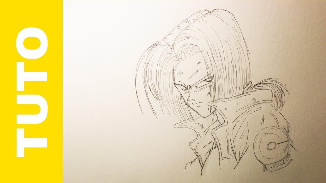 How To Draw Future Trunks Step By Step Dragon Ball Z