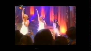 Linda, Roos & Jessica - Ademnood (live)