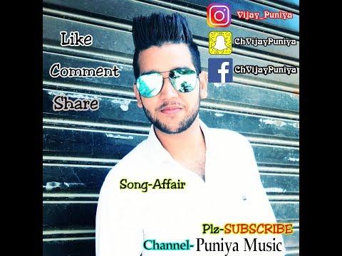 Affair CH Vijay Puniya Elly Mangat ftMc JD Deep Jandu Official Video 2018