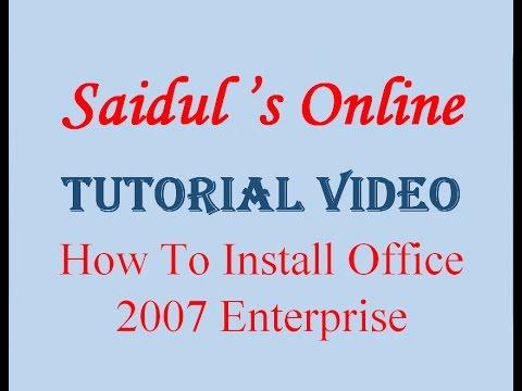 Microsoft® office 2007 tutorial.