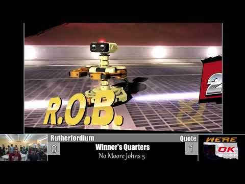 No Moore Johns 6 WQ: Rutherfordium (Lucina) vs Quote (R.O.B.)