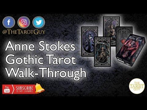 Anne Stokes Gothic Tarot WalkThrough