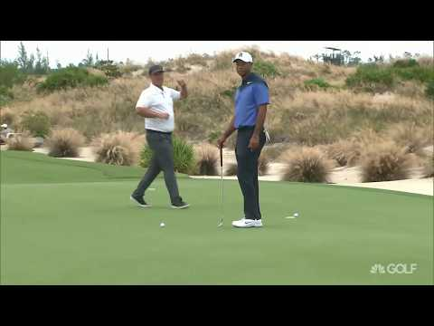 Tiger Woods recent practice footages