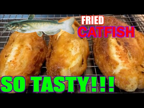 How To Make Delicious Mustard Fried CatFish