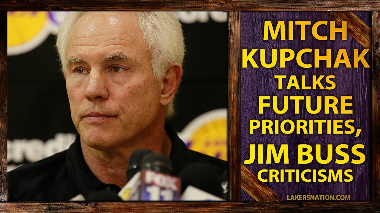 Lakers GM Mitch Kupchak Talks Future Priorities Magic s