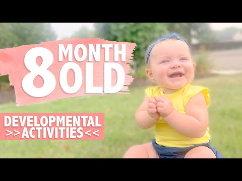 HOW TO PLAY WITH YOUR 8 MONTH OLD BABY | Developmental Milestones | Activities for Babies | CWTC