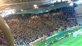 FC Nantes - Evian TG 3-0 Tribune Loire # Assis, Debout, Nantes !