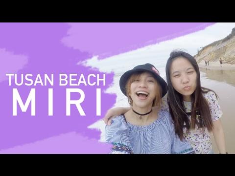 Exploring Miri! The Famous Tusan Beach feat Daisy