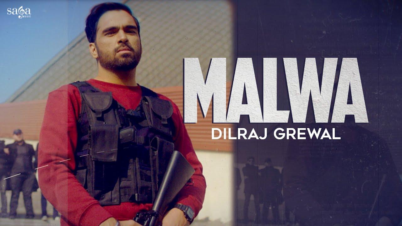 Malwa (Lyrical Video) - Dilraj Grewal | New Album Song | Latest Punjabi Songs 2021 | Bottles & Guns