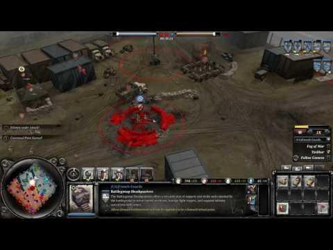 COH 2 Season 6 #12 Axis vs Allies Port of Hamburg