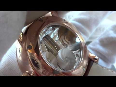 Reuge Boegli Musical wristwatch Mozart