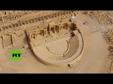 Rusia entrega a Siria un modelo 3D de la Palmira destruida por los terroristas