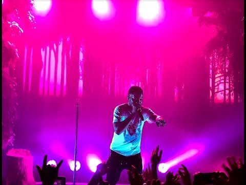 Kid Cudi Live - Concert Intro - 'Baptized In Fire' 2017