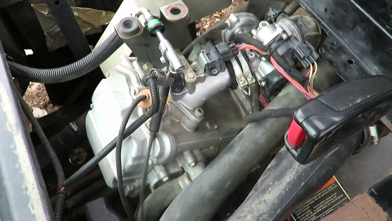 2008 Polaris Ranger 500efi engine not running properly ongaonga