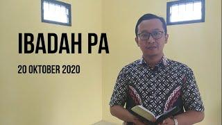Ibadah PA 20 Oktober 2020 - GKJW Jemaat Mojosari