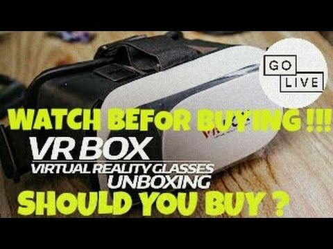 VR BOX 2.0 UNBOXING !! PROBLEMS !! REVIEW WATCH BEFOR BUYING !!