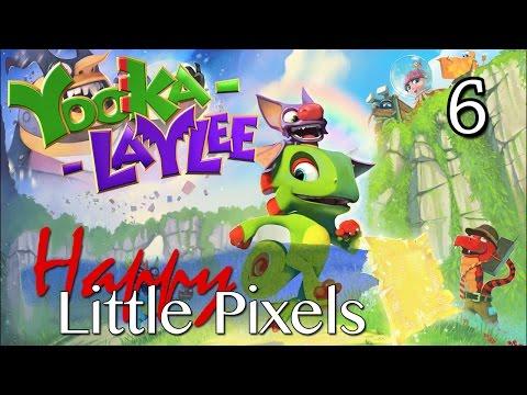 Happy Little Pixels - Yooka Laylee E6 - Glitterglaze Glacier