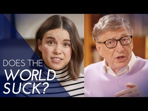 How Much Does the World Suck? A Quiz with Bill Gates  Ingrid Nilsen