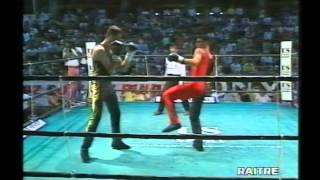 Bergomi vs Rizzo.  Savate (Box francese) Titolo Italiano.