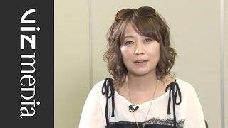 NARUTO SHIPPUDEN - A Special Message from Junko Takeuchi, Voice of Naruto Uzumaki