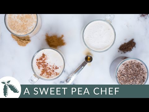 How to Make Homemade Lattes + 4 Latte Recipes | A Sweet Pea Chef