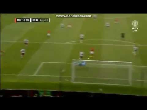 [1-0] Louis Saha Great Goal vs Bayern Munich Legends!! ( Manchester United Foundation )