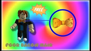 HOW TO GET THE DIY CARDBOARD BOWTIE! | ROBLOX 6TH BLOXY'S EVENT