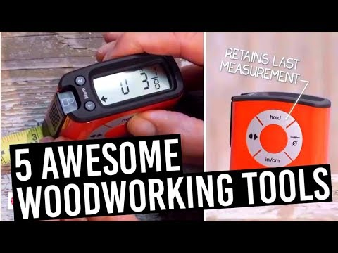 Amazing DIY Woodworking tools on Amazon (5 Carpentry Gadgets You Can Buy Today!) 2018