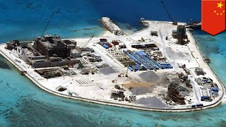 China hits military goals, slows building in South China Sea - TomoNews