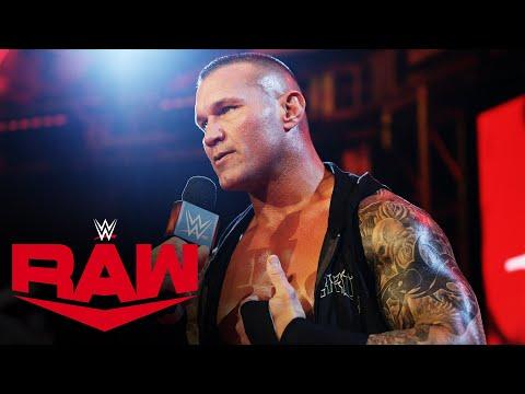 Randy Orton accepts Edge's WrestleMania challenge: Raw, March 23, 2020