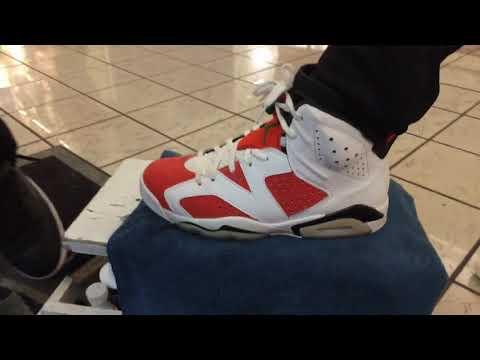 How to Clean Air Jordan retro 6 Gatorade (like mike)