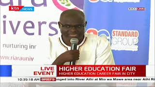 Key note speech at the ongoing Higher Education Fair organised by the Standard Group at the KICC