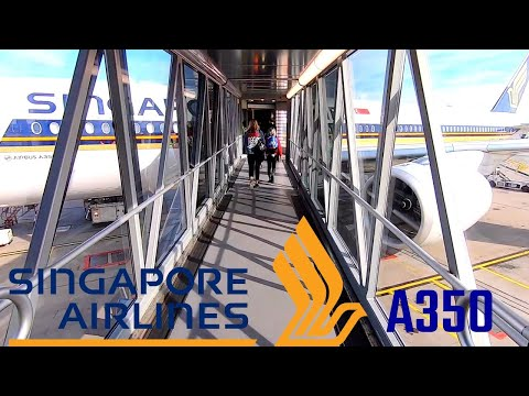 SINGAPORE AIRLINES A350-900 (Economy)   STOCKHOLM - MOSCOW