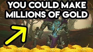 World Of Warcraft You Could Make Millions Of Gold In BFA!