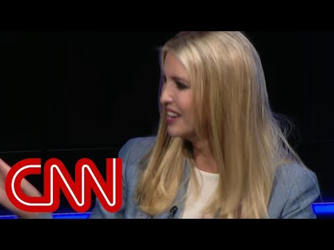 Ivanka Trump laughs off Trump Tower question