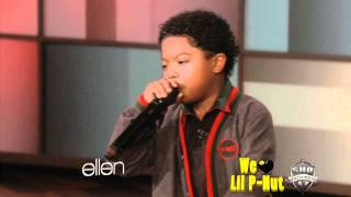 "Lil P-Nut ""Choosin"" Performance on The Ellen Show [The Return of Lil P-Nut]"