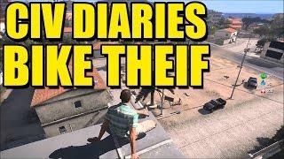 BIKE THEIF/COP TROLL - Arma 3 Altis Life Civ Diaries