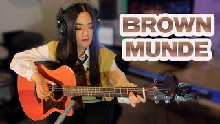 (AP Dhillon, Gurinder Gill, Shinda Kahlon, Gminxr) Brown Munde - Fingerstyle Guitar Cover